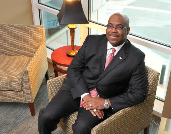 Johnny B. Moore, president and CEO of Suntrust Bank Memphis