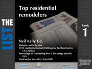 1: Neil Kelly Co.
