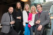 District Home magazine held an inaugural spring event at the Boffi-Maxalto Showroom in Georgetown on May 2 to celebrate the launch of the magazine and the beginning of spring. From left, Maxalto Showroom Manager Brian Fell, Boffi Showroom Manager Julia Walter, District Home Publisher Reagan Smith, District Home Marketing and Events Director Kristi Lee Colavito and Boffi Senior Project Designer Alberto De Marco.