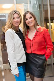 District Home Publisher Reagan Smith, left, and District Home Advertising Director Nuria Clusella Fabres.