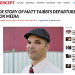 The story of what happened to Matt Taibbi and his fall from Pierre Omidyar's army