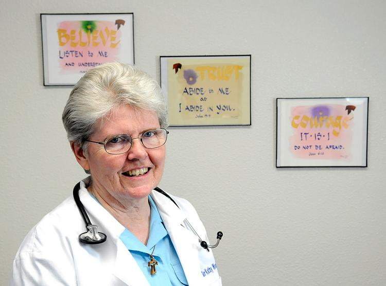 Sister Kathy Wood opened Clara's House several years ago to help fulfill her lifelong dream of providing basic medical care to the poor and uninsured.