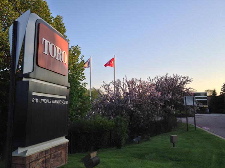 The Toro Co.'s current Bloomington headquarters was built in 1952. Toro owns several parcels north of the current site where it plans to expand with new office space later this year.