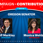 Campaign Cash: Who's opening their wallets for Merkley and <strong>Wehby</strong>?