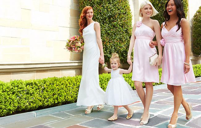 Target launched Tevolio, a new collection of affordable wedding dresses for brides, bridesmaids and flower girls.