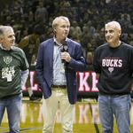 Scenes from Milwaukee Bucks home opener and debut of the new owners: Slideshow