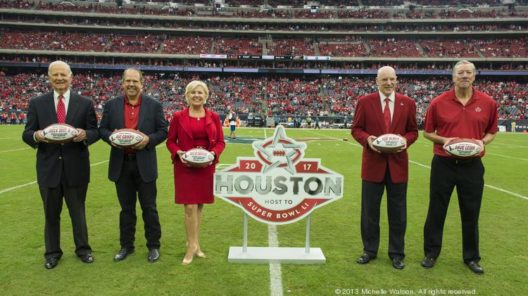 Members of the Houston Super Bowl Host Committee, which received $25.4 million from the state of Texas' Major Events Reimbursement Program.