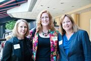Beth Workman, left to right, Maggie Spalding and Beth Adams at Nashville Business Journal's Health Care Heroes luncheon.
