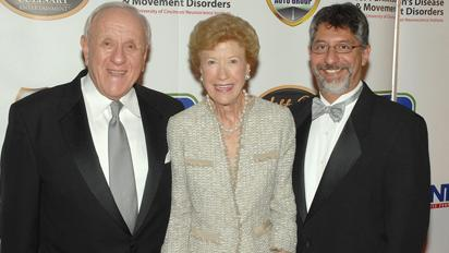 James Gardner, left, and his wife, Joan Gardner, with Dr. Fredy Revilla of the Gardner Family Center for Parkinson's Disease and Movement Disorders in 2012.