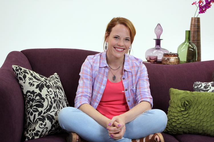 Katie Leclerc, a star in ABC Family's Switched at Birth, is on the set of the new Purple Communications commercial. The commercial is a first -- using sign language on mainstream TV, just as the episode itself is a first, because it also will be in sign language only.