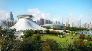 Would you want this Lucas museum structure in San Francisco?