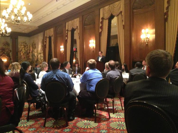 Matthew Goodman, William E. Simon Chair of Political Economy at the Center for Strategic & International Studies, discusses the economies of the U.S., Japan and China at the Duquesne Club.