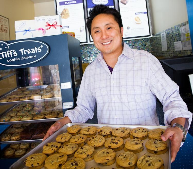Leon Chen, CEO of Tiff's Treats, said customer data determines where the cookie maker opens new stores.