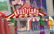 A new Krustyland area will provide games for guests. I have a feeling Krusty will make sure all of his things are up to safety standards ...