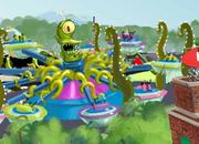 Simpsons' alien duo will thrill guests on Kang & Kodos' Twirl 'n' Hurl. Suffer, foolish humans!