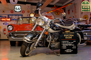 A 1965 Harley Davidson Electra Glide rounds out George Passadore's collection.