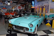 George Passadore loves the history and stories each auto has to tell. This 1955 Thunderbird marks the first year Ford made the car.