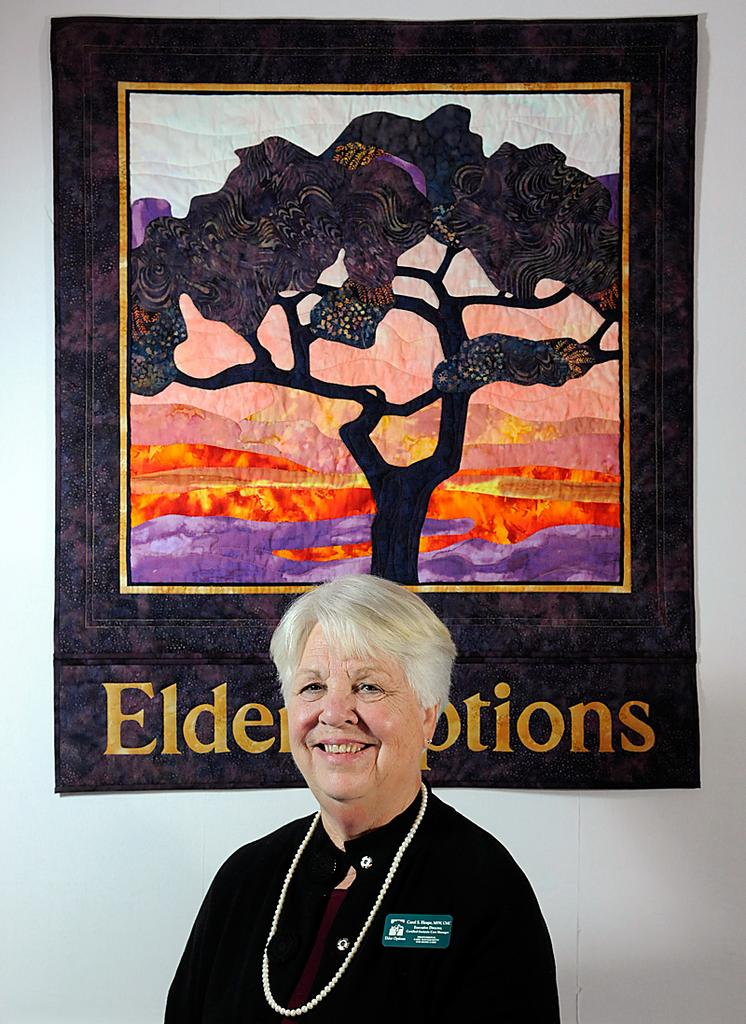 Carol Heape founded Elder Options in 1988 to help older people remain in their own homes as long as possible.