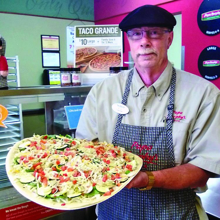 Rick Brozek says owning a pair of Papa Murphy's franchises is part of the recipe for his satisfaction as an entrepreneur.