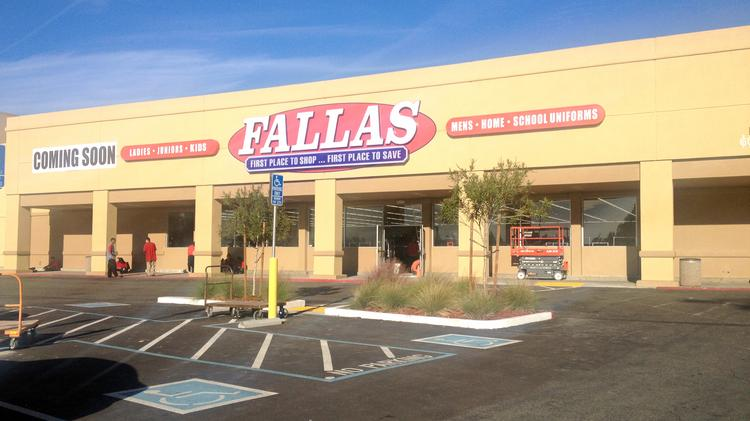 5b07a9771b3  Fallas Discount Stores will open a location in Carmichael next week. The  retailer sells