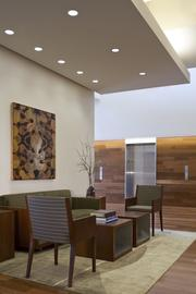 Ater Wynne designed its law offices to include public seating areas while highlighting its art collection.
