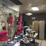 T-Mobile employees transform after-school spaces