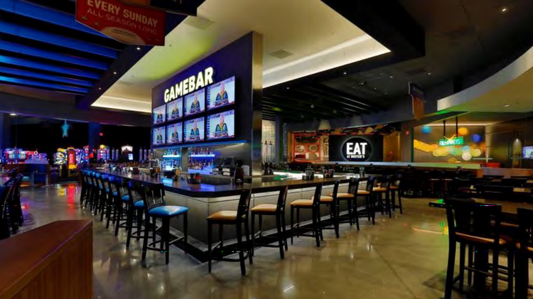 Dave & Buster's, located at the Fountains at Arbor Lakes, offers fun for the whole family with more than games in its Million Dollar Midway. Win tickets playing games and turn them in .