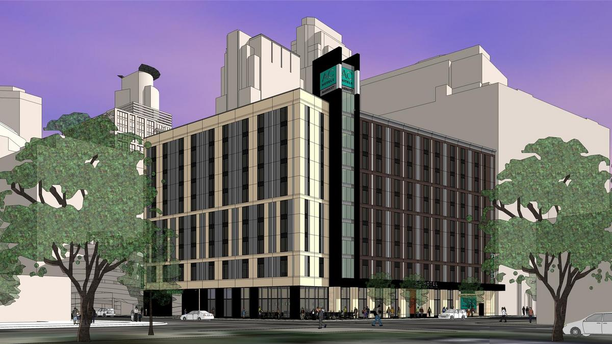 Mortenson Closes On Hennepin Site For Ac Hotel By Marriott Minneapolis St Paul Business Journal
