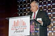 Jim Naber of CohnReznick the presenting partner of the Boston Business Journal's Best in Boston Real Estate Awards luncheon introduced keynote speaker Gary Loveman of Caesars Entertainment Corporation.