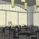 Restaurant, retail tabbed for King Building