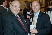 Not needing to network, but enjoying each others company were father and son Elliot Ravech of Elliot & Company and Andrew Ravech of NAI Hunneman at the Boston Business Journal's Best in Boston Real Estate Awards luncheon.
