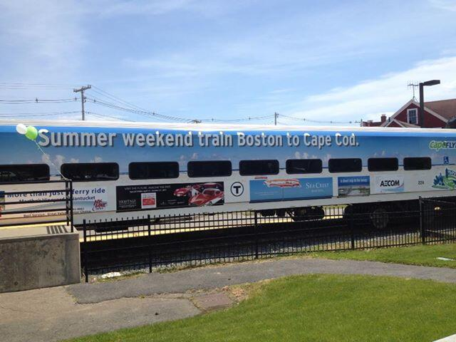 The Cape Flyer, the MBTA Commuter Rail's Boston-to-Hyannis train service, opens Friday for a Memorial Day weekend in which lighter travel is expected.
