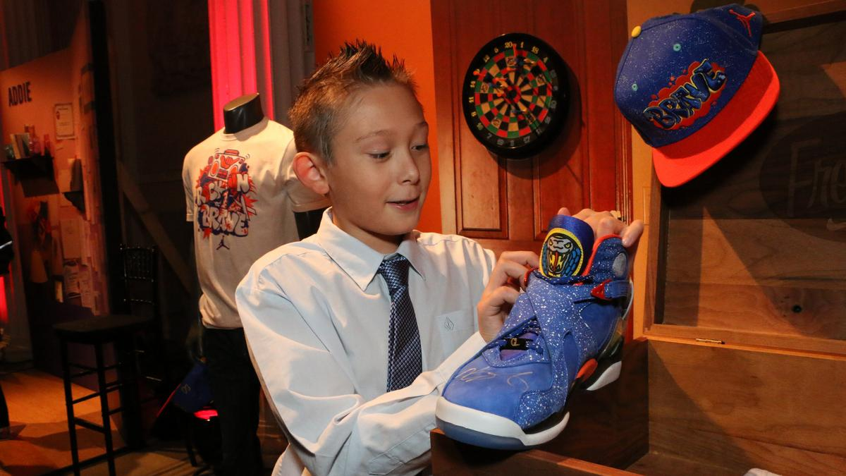 d1810a3f671f24 Nike unveils latest collaboration with Doernbecher Children s Hospital  patients (Photos) - Portland Business Journal