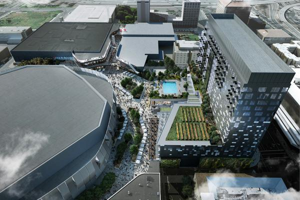 Kings submit formal plan for arena development