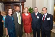 Mayor Michael Nutter with attendees at the 40 Under 40 awards dinner.