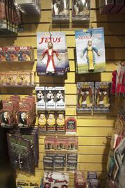 Part of the collection of religious gag gifts.