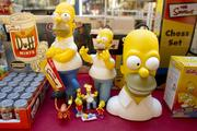More contemporary offerings include multiple collectibles from The Simpsons.