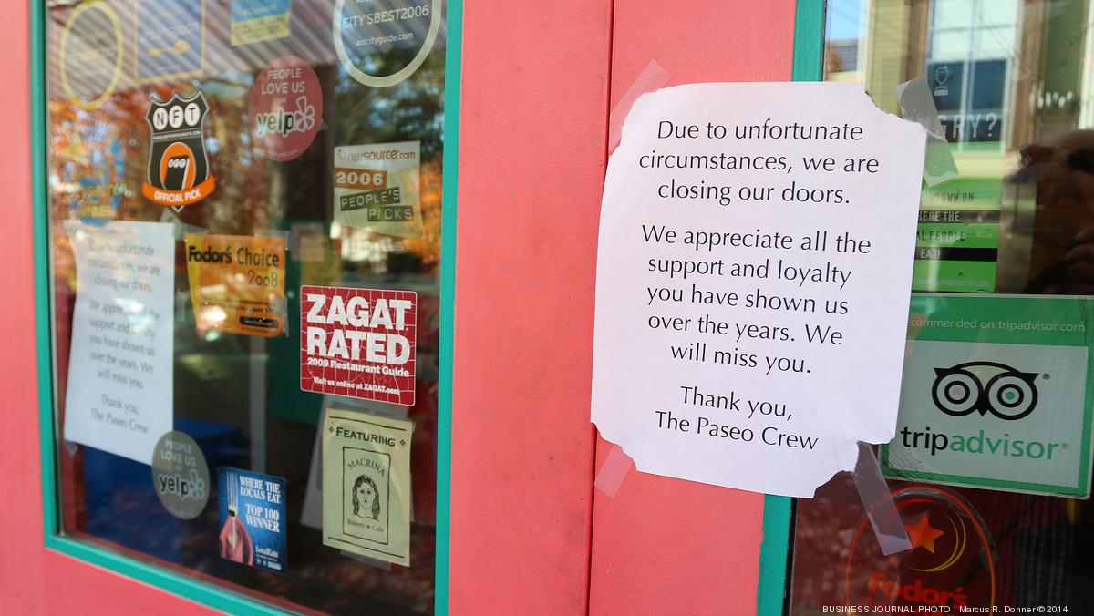 Popular Sandwich Restaurant Paseo Abruptly Closes Both Locations