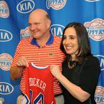 L.A. Clippers new president, <strong>Gillian</strong> <strong>Zucker</strong>, is in a very (very) small club