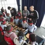 Bucks players stress importance of reading to Milwaukee school kids: Slideshow