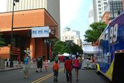 Food Lion Speed Street has rolled into uptown Charlotte for its 19th year. Organizers of the three-day street festival expect some 400,000 attendees over the course of the event.