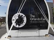 The Orlando Eye will install its final capsule on Thursday.
