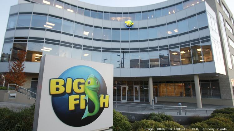 Big fish games outgrows waterfront building seeks larger for Big fish games new
