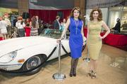 Parissa Mohajer and Mahzad Mohajer at Momentum Jaguar F-Type launch