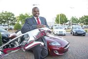 Chester Pitts at Momentum Jaguar F-Type launch