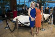 Diane Caplan, Momentum's eCommerce and marketing director, and Dana Kervin at Momentum Jaguar F-Type launch
