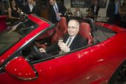 HBJ Managing Editor Greg Barr at Momentum Jaguar F-Type launch