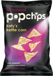 Popchips, Katy Perry's kettle corn.