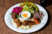 The new Anatolian Table bistro in midtown offers this lamb kebab dish.
