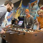 Milwaukee's Coolest Offices: Nerf guns, foosball and giant TV screen highlight Corvisa Services: Slideshow